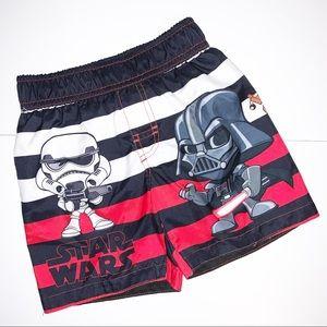 Disney Star Wars swim trunks 4T